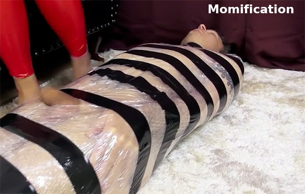 la momification en bdsm